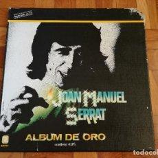Discos de vinilo: JOAN MANUEL SERRAT ALBUM DE ORO CONTIENE 4LP'S-POEMA DE AMOR-DIEZ EXITOS-MIS POETAS-VIVENCIAS. Lote 194904050