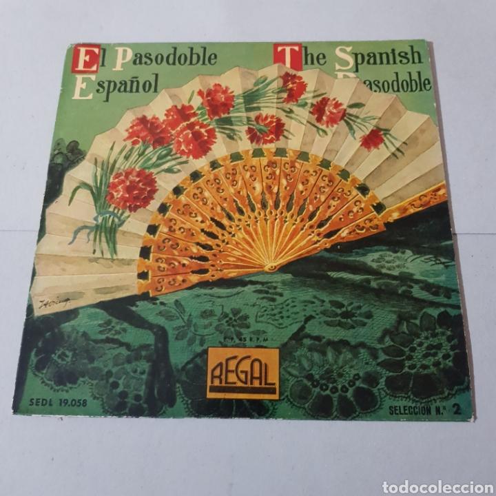 BANDA MUNICIPAL DE MADRID - EL PASODOBLE ESPAÑOL- 1958 (Música - Discos - Singles Vinilo - Flamenco, Canción española y Cuplé)