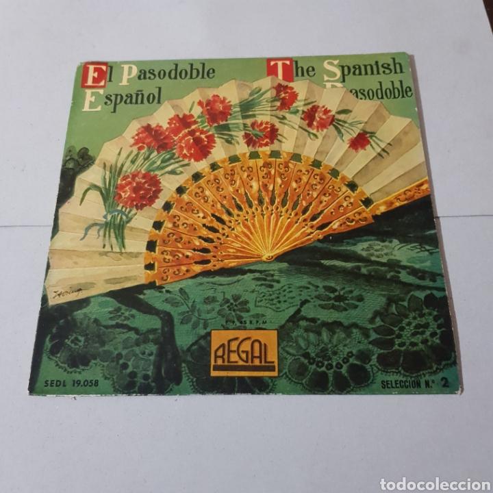Discos de vinilo: BANDA MUNICIPAL DE MADRID - EL PASODOBLE ESPAÑOL- 1958 - Foto 5 - 194904112
