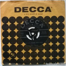 Discos de vinilo: MITCHELL TOROK. THE P.T.A. ROCK AND ROLL/ TEENIE WEENIE BIKINI. DECCA, USA 1959 SINGLE. Lote 194904331