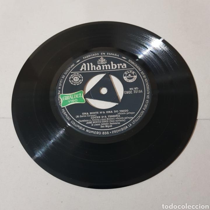 Discos de vinilo: GALICIA - JAIME MONTES CONDE ( BAJO CANTANTE ) - Foto 3 - 194904436