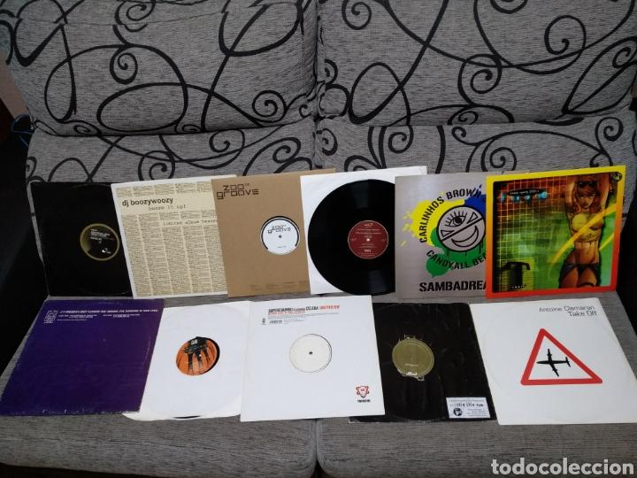 Discos de vinilo: Maleta metálica + Lote 64 Vinilos house - Foto 3 - 194904597