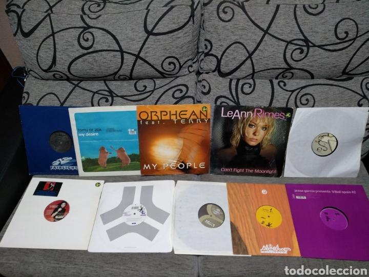 Discos de vinilo: Maleta metálica + Lote 64 Vinilos house - Foto 4 - 194904597