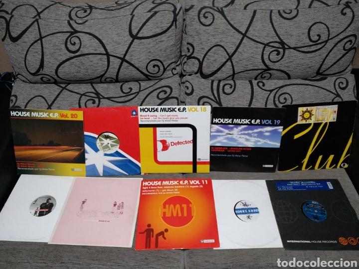 Discos de vinilo: Maleta metálica + Lote 64 Vinilos house - Foto 7 - 194904597