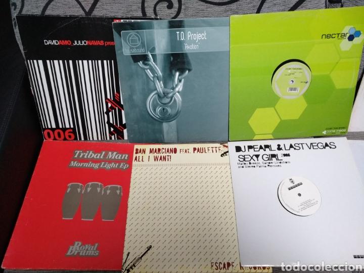 Discos de vinilo: Maleta metálica + Lote 64 Vinilos house - Foto 11 - 194904597