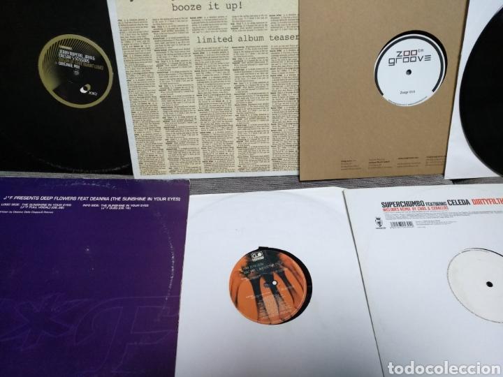 Discos de vinilo: Maleta metálica + Lote 64 Vinilos house - Foto 13 - 194904597