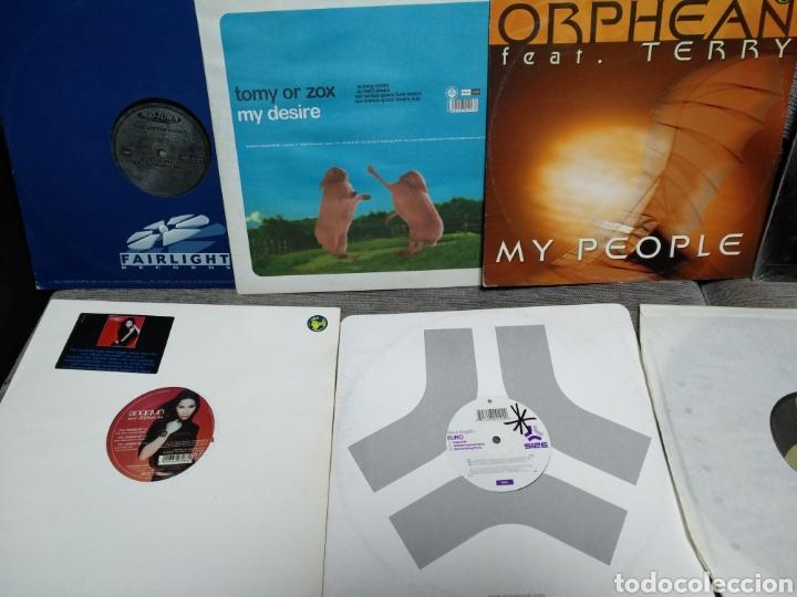 Discos de vinilo: Maleta metálica + Lote 64 Vinilos house - Foto 15 - 194904597