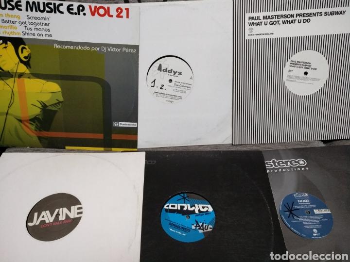 Discos de vinilo: Maleta metálica + Lote 64 Vinilos house - Foto 19 - 194904597
