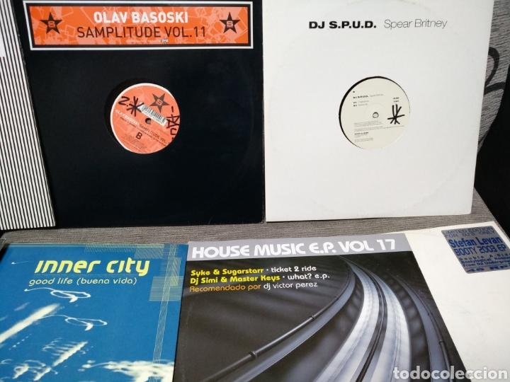Discos de vinilo: Maleta metálica + Lote 64 Vinilos house - Foto 20 - 194904597