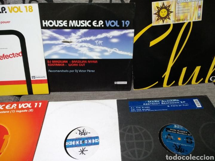 Discos de vinilo: Maleta metálica + Lote 64 Vinilos house - Foto 21 - 194904597
