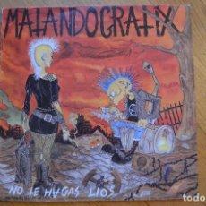 Discos de vinilo: MATANDO GRATIX - NO TE HAGAS LIOS 1992 LP VINYL POTENCIAL HARDCORE PHC13 SPAIN. Lote 194904867
