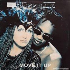 Discos de vinilo: CAPPELLA - MOVE IT UP. Lote 194905558