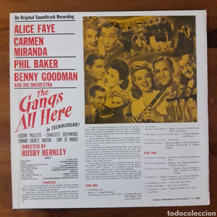 Discos de vinilo: TODA LA BANDA ESTÁ AQUÍ (THE GANGS ALL HERE) - Foto 2 - 194906052