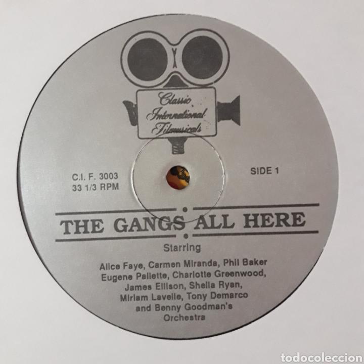Discos de vinilo: TODA LA BANDA ESTÁ AQUÍ (THE GANGS ALL HERE) - Foto 3 - 194906052