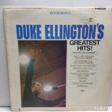 Discos de vinilo: LP -DUKE ELLINGTON'S- GREATEST HITS EN FUNDA ORIGINAL. Lote 194909577