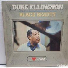 Discos de vinilo: LP -DUKE ELLINGTON'S- BLACK BEAUTY EN FUNDA ORIGINAL AÑO 1960. Lote 194909871