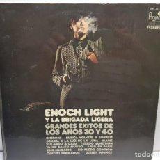 Discos de vinilo: LP -ENOCH LIGHT- GRANDES EXITOS 30 Y 40 EN FUNDA ORIGINAL AÑO 1971. Lote 194910580