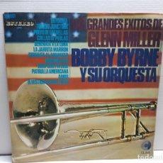 Discos de vinilo: LP -GLENN MILLER Y BOBBY BYRNE- GRANDES EXITOS EN FUNDA ORIGINAL AÑO 1967. Lote 194911076