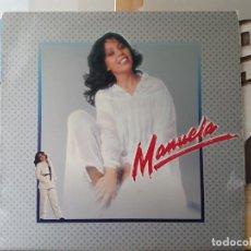 Discos de vinilo: ** MANUELA - NO TE VAYAS DE MI VERA - LP 1980 - LEER DESCRIPCIÓN. Lote 194911782