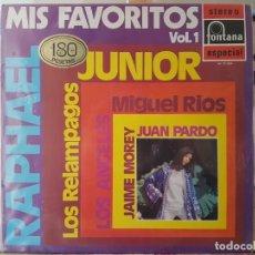 Discos de vinilo: ** MIS FAVORITOS VOL1 (VERSIONES Y ARTISTAS ORIGINALES) - LP 1970 - LEER DESCRIPCIÓN. Lote 194911872