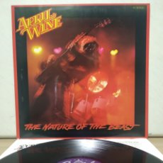 Discos de vinilo: APRIL WINE - THE NATURE OF THE BEAST 1981 ED ALEMANA CON ENCARTE. Lote 194911991