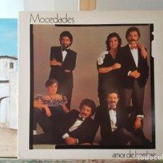 Discos de vinilo: *** MOCEDADES - AMOR DE HOMBRE - LP 1982 (DOBLE PORTADA) - LEER DESCRIPCIÓN. Lote 194912171