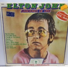 Discos de vinilo: LP -ELTON JOHN-CANCIONES DE ORO EN FUNDA ORIGINAL AÑO 1979. Lote 194912200