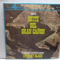 Discos de vinilo: LP -SUITE DEL GRAN CAÑON-GROFÉ EN FUNDA ORIGINAL AÑO 1964. Lote 194912358