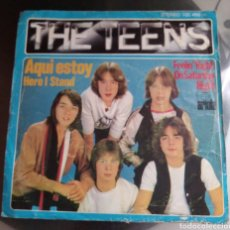 Discos de vinilo: THE TEENS - AQUÍ ESTOY ( HERE I STAND ). Lote 194914333