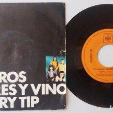 Discos de vinilo: CHICORY TIP / CIGARROS, MUJERES Y VINO / SINGLE 7 INCH. Lote 194915353