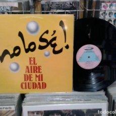 Discos de vinilo: LMV - NO LO SÉ!. EL AIRE DE MI CIUDAD. FP RECORDS 1989, REF. P-2002. Lote 194915976