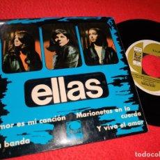 Discos de vinilo: ELLAS LA BANDA (A BANDA)/AMOR ES MI CANCION/Y VIVA EL AMOR +1 EP 1967 CEM CHICAS YEYE. Lote 194916168