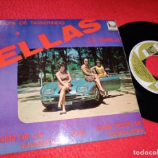 Discos de vinilo: ELLAS Y DICEN DE LA JUVENTUD/CON TODO MI CORAZON/LA FAMILIA/PULPA DE TAMARINDO EP 1967 CEM PROMO. Lote 194916393