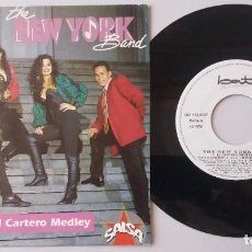 Discos de vinilo: THE NEW YORK BAND / EL CARTERO MEDLEY / SINGLE 7 INCH. Lote 194916440