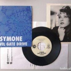 Discos de vinilo: SYMONE / DEVIL GATE DRIVE / SINGLE 7 INCH. Lote 194919335