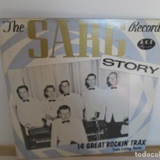 Discos de vinilo: THE SARG RECORD´S STORY. 14 GREAT ROCKIN´TRAX. FROM LULING TEXAS. LP VINILO. SARG RECORDS 1981.. Lote 194921945
