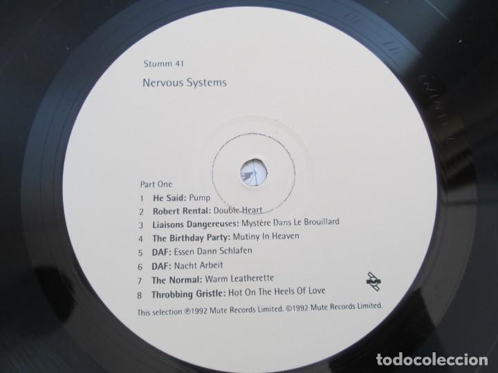 Discos de vinilo: NERVOUS SYSTEMS. LP VINILO. 1992. MUTE RECORDS LIMITED. VER FOTOGRAFIAS ADJUNTAS - Foto 6 - 194922622