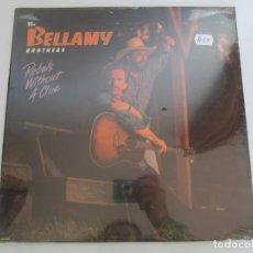 Discos de vinilo: THE BELLAMY BROTHERS. REBELS WITHOUT A CLUE. LP VINILO. MCA RECORDS CURS RECORDS. 1988. NUEVO. Lote 194923446
