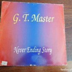 Dischi in vinile: G.T.MASTER-NEVER ENDING STORY. MAXI ITALIA. Lote 194924558