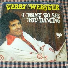 Discos de vinilo: TERRY WEBSTER – I WANT TO SEE YOU DANCING / ROCK 'N' ROLL WE LOVE YOU, BP, 06-113, 1976.. Lote 194925925