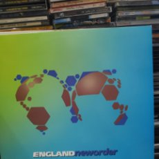Discos de vinilo: ENGLAND NEWORDER WORLD IN MOTION. Lote 194926451