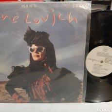 Discos de vinilo: LP LENE LOVICH NO MANS LAND 1982 DISCOS VICTORIA EDIGSA. Lote 194926567