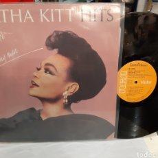 Discos de vinilo: 1986 EARHA KITT HITS. Lote 194926970