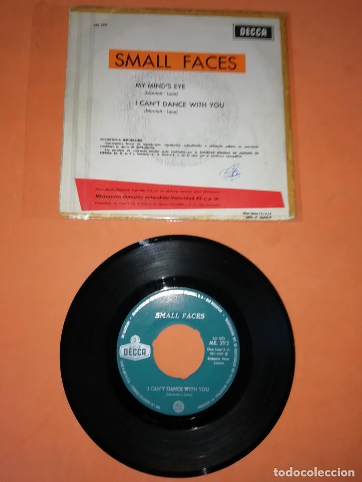 Discos de vinilo: SMALL FACES. MY MINDS EYE. I CANT DANCE WITH YOU. DECCA RECORDS 1966 - Foto 2 - 194928396