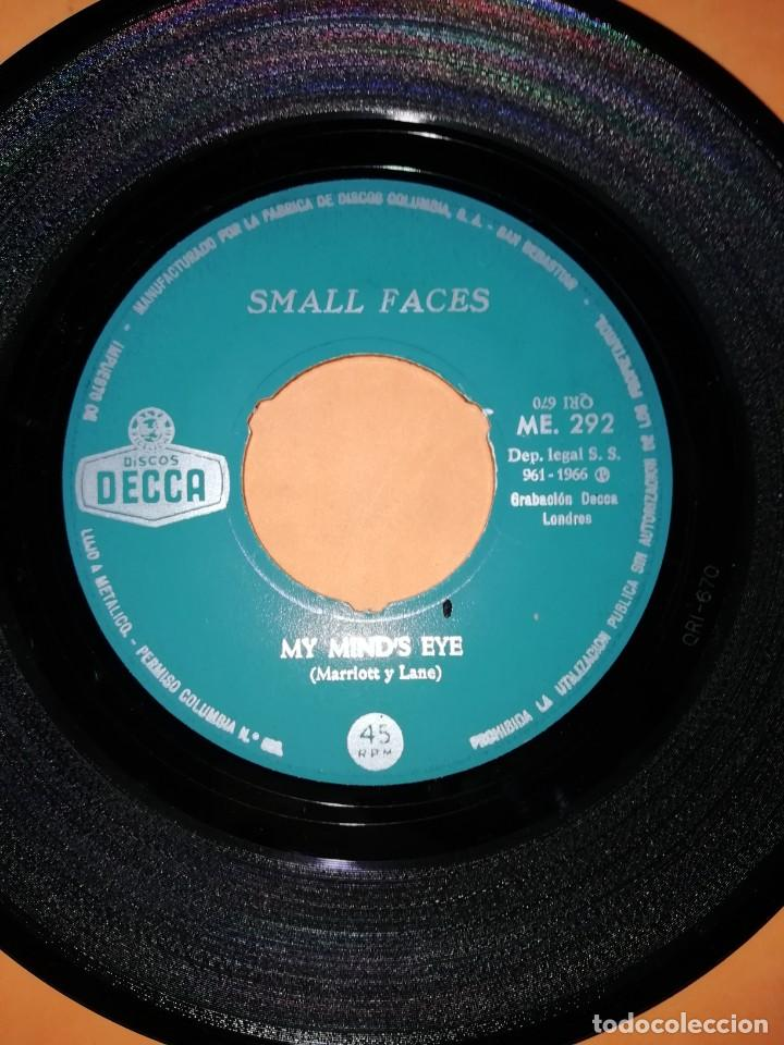 Discos de vinilo: SMALL FACES. MY MINDS EYE. I CANT DANCE WITH YOU. DECCA RECORDS 1966 - Foto 3 - 194928396