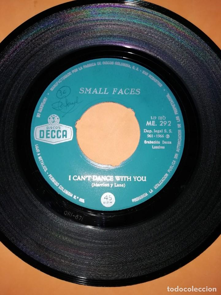 Discos de vinilo: SMALL FACES. MY MINDS EYE. I CANT DANCE WITH YOU. DECCA RECORDS 1966 - Foto 4 - 194928396