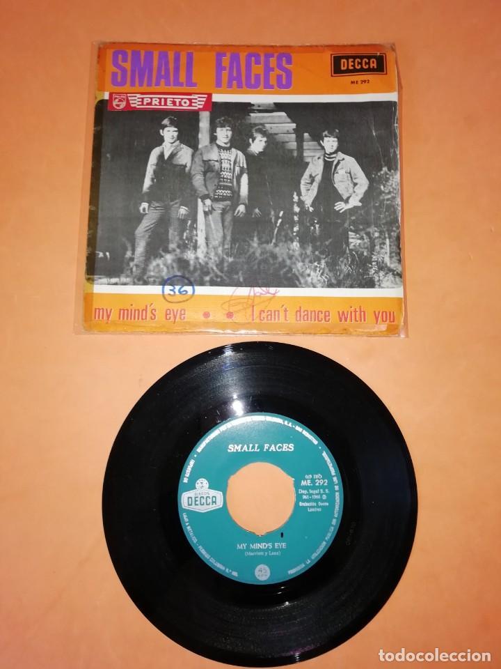 SMALL FACES. MY MIND'S EYE. I CAN'T DANCE WITH YOU. DECCA RECORDS 1966 (Música - Discos - Singles Vinilo - Pop - Rock Internacional de los 50 y 60)