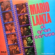 Discos de vinilo: MARIO LANZA - EL GRAN CARUSO. Lote 194929270