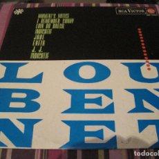 Discos de vinilo: LP LOU BENNET RCA 10295 SPAIN 1965 JAZZ SOLO PORTADA. Lote 194930700