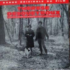 Discos de vinilo: BANDA SONORA DE LA PELÍCULA THERESE DESQUEYROUX EDITADO EN FRANCIA POR EL SELLO DUCRETET THOMSON. Lote 194930913